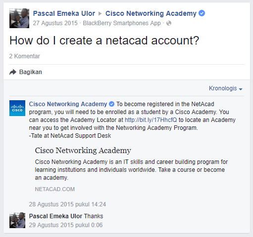 How to register netacad account